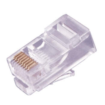 Conector RJ-45 Cat 5 8x8 Contatos (unidade) - OEM