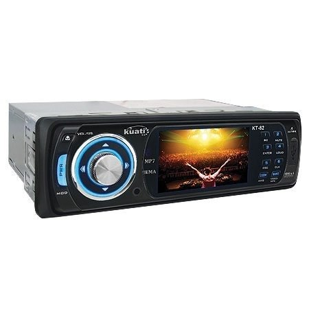 Som Automotivo Radio MP3 Com USB Frontal KT-82 - Kuati