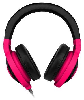 Fone de Ouvido com Microfone Kraken Pro Neon Vermelho RZ04-00871200-R3M1 - Razer