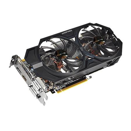 Placa de Vídeo Geforce GTX760 2GB DDR5 OC Windforce 256Bits GV-N760WF2OC-2GD - Gigabyte