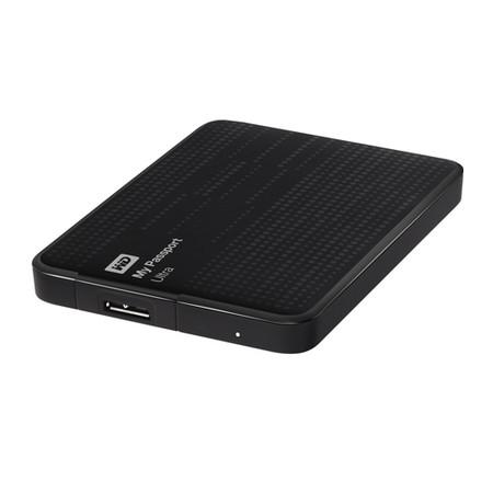 HD Externo 500GB Portátil My Passport Ultra USB 3.0 WDBZFP5000ABK-NEBZ Preto - Western Digital