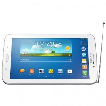 Tablet Galaxy Tab 3 SM-T211M DTV Android 4.1 Wi-Fi + 3G + TV Digital Tela 7 Branco 8GB - Samsung