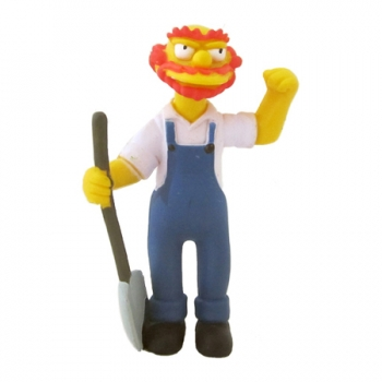 Boneco The Simpsons Groundskeeper Willie BR205/BR361 - Multikids