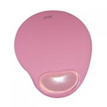 Mouse Pad Com Apoio em Gel Rosa MP6RS - OEM