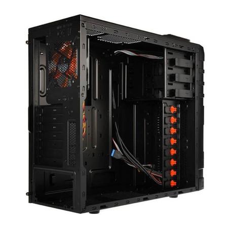 Gabinete ATX 381 Asgard Orange Mesh CCC-AD38BV-U02 - Xigmatek