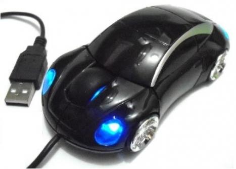 Mouse carro Optico usb Porsche Preto GM-S300 - -