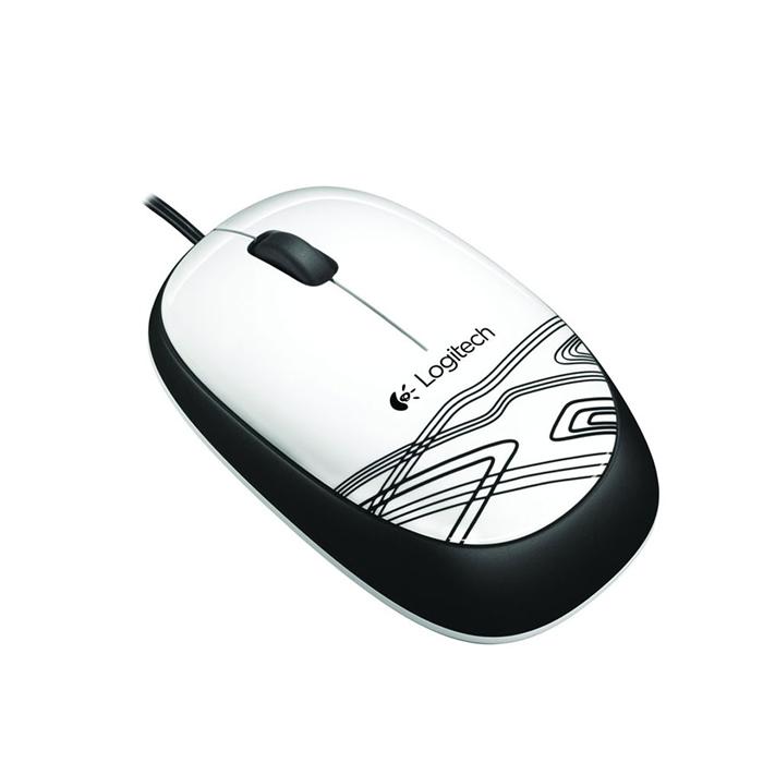 Mouse Otico USB M105 Branco 910-003138 - Logitech
