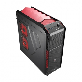 Gabinete ATX Xpredator X1 Devil Red Edition USB3.0 EN57066 - Aerocool