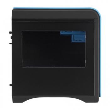 Gabinete DS Cube Blue Window Edition s/ Fonte EN52537 (Micro/Mini ATX) - Aerocool