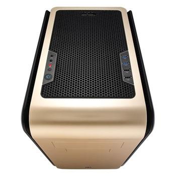 Gabinete DS Cube Gold Window Edition s/ Fonte EN52391 (Micro/Mini ATX) - Aerocool