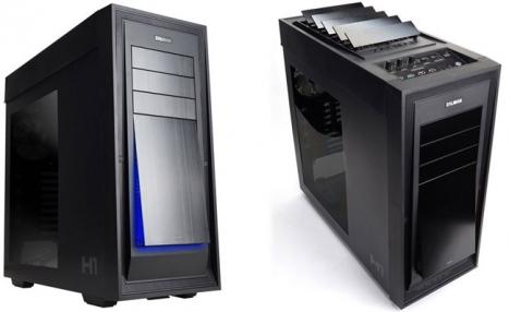 Gabinete Full Tower ZM-H1 (Sistema de Controle de Resfriamento Automático) - Zalman