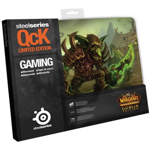 Mouse Pad QcK Edição Limitada World of Warcraft Cataclysm Goblin Edition 67209 - Steelseries