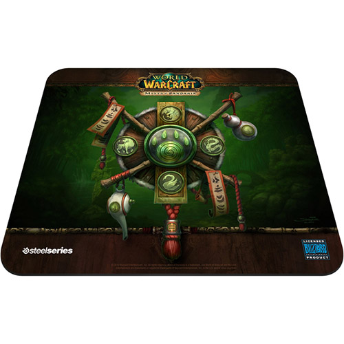Mouse Pad QcK Edição Limitada World of Warcraft Mists of Pandaria 67262 - Steelseries