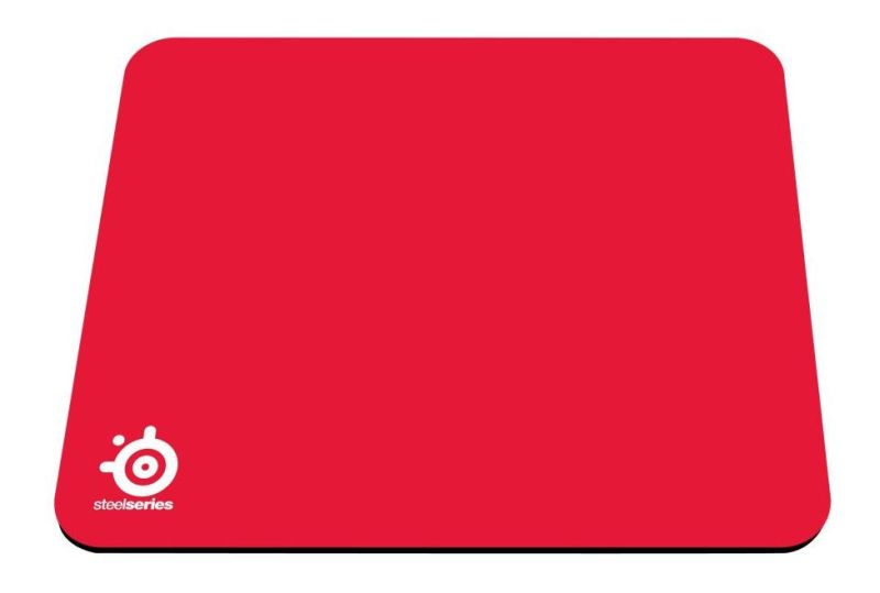 Mouse Pad QcK Mini Pro Gaming Vermelho 63069 - Steelseries