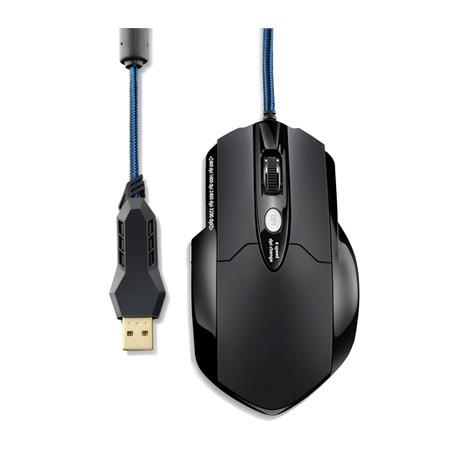 Mouse Gamer Laser 3200DPI MO191 USB e MOUSE PAD WARRIOR - Multilaser