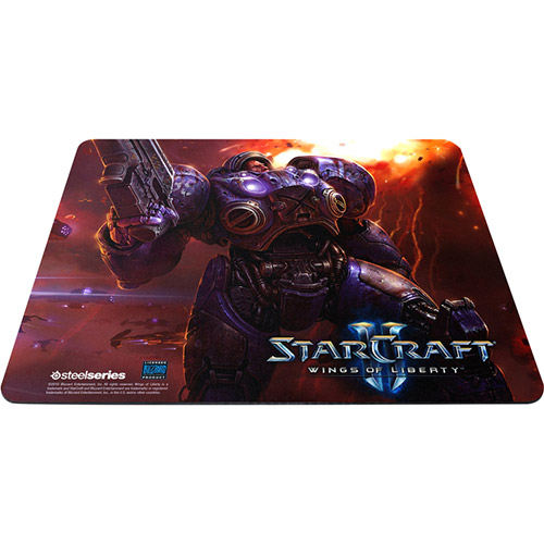 Mouse Pad QcK Starcraft II Tychus Findlay 63302 - Steelseries