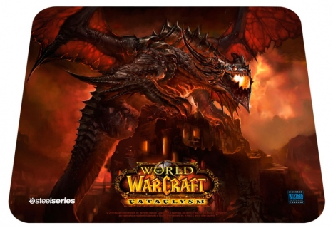 Mouse Pad Qck WOW Cataclysm Deathwing 67208 - Steelseries