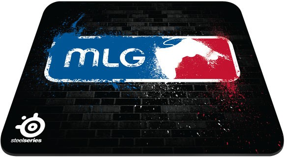Mouse Pad QcK+ MLG Wall Edition 63324 - Steelseries