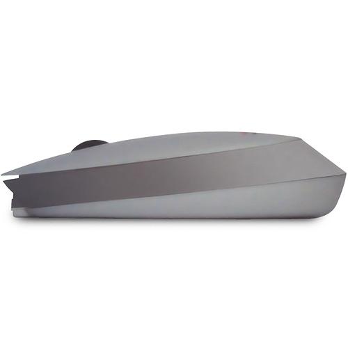 Mini Mouse Sem Fio Style Prata - New Link