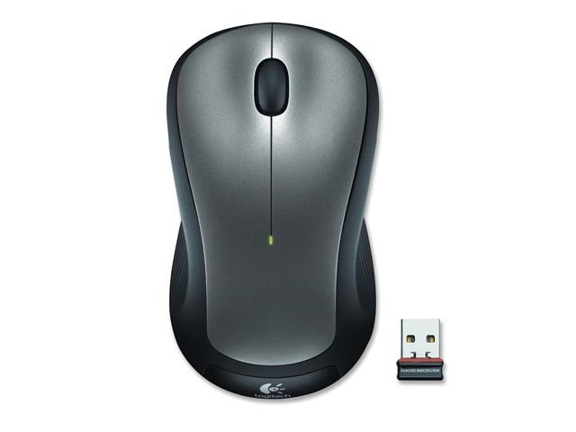 Mouse M317 Wireless 2.4Ghz Dark Silver - Logitech