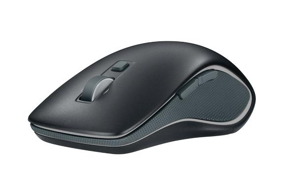 Mouse M560 Wireless 910-003900 Preto - Logitech