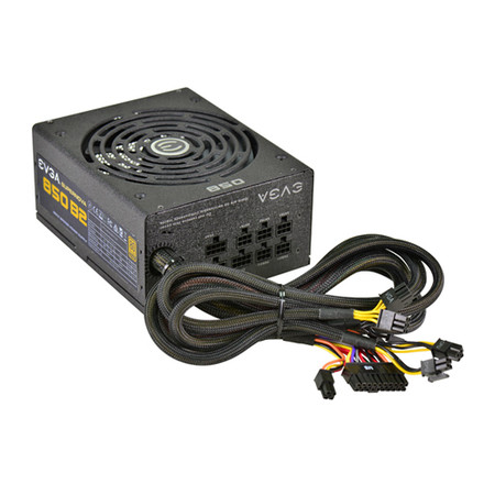 Fonte ATX 850W 80 Plus Bronze 110-B2-0850-V1 Semi Modular - EVGA