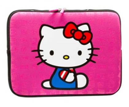 Case para Netbook 12 Hello Kitty em Neoprene 20509G-PNK - Sakar