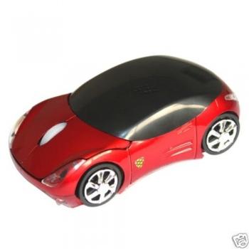 Mouse Optico Wireless Ferrari Vermelho M-C1006 - -