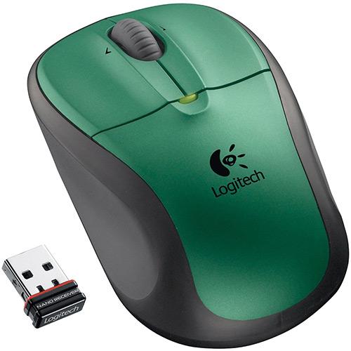 Mouse Ótico Sem Fio USB M305 ForestGreen - Logitech