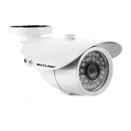 Câmera Externa Sensor Sony CCD 1/3´´ Infravermelho 25m SE006 Branca - Multilaser