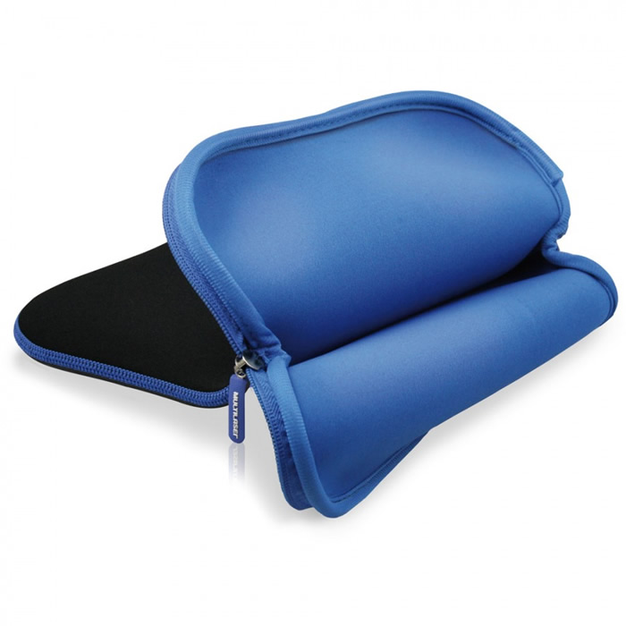 Case de Neoprene 14 Azul/Preto BO181 - Multilaser