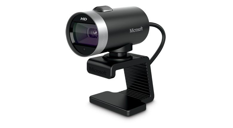 WebCam LifeCam Cinema HD 720P USB Preta H5D-00013 - Microsoft