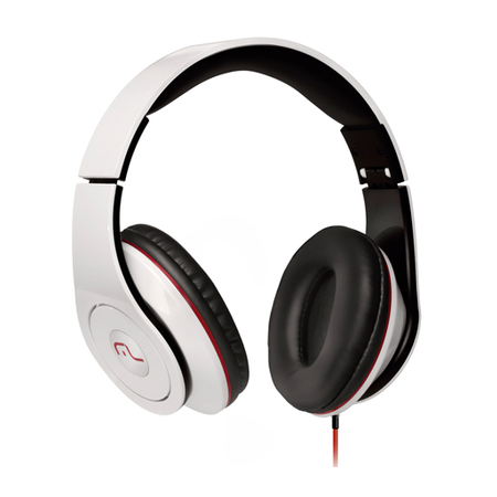 Fone de Ouvido Headphone Monster Branco PH075 - Multilaser