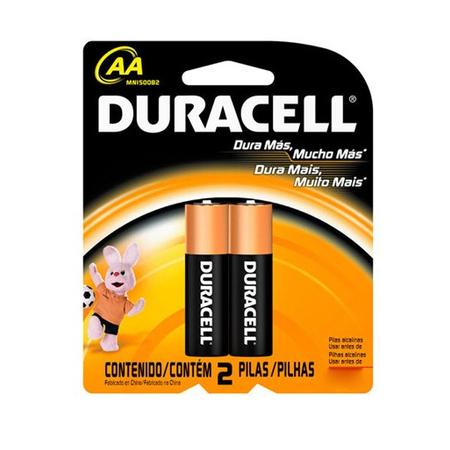 Pilha AA c/2 MN1500B2 - Duracell