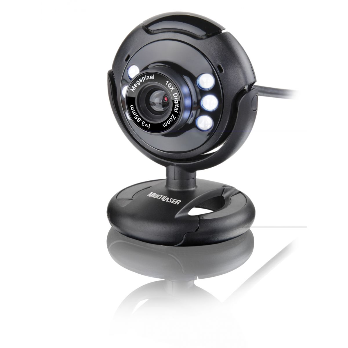 Webcam Night Vision WC045 16MP (Interpolado) - Multilaser