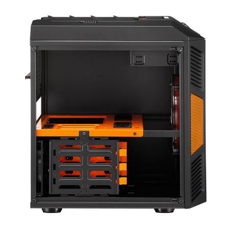 Gabinete Micro ATX Xpredator Cube Orange EN52841 - Aerocool