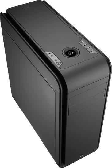 Gabinete ATX DS200 Black EN52605 - Aerocool