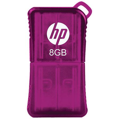 Pen Drive 8GB V165W P-FD8GBHP165P-Gel Roxo - HP