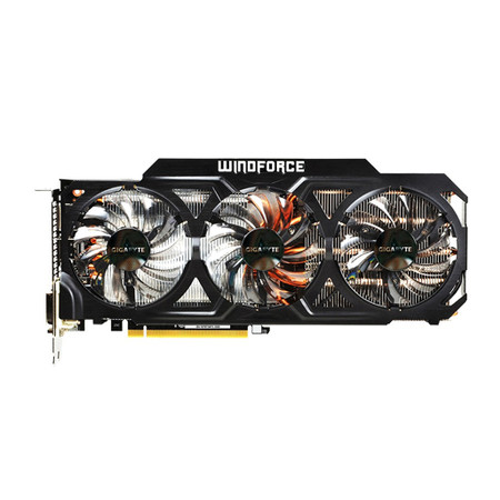 Placa de Vídeo Geforce GTX780TI 3GB DDR5 Windforce 384Bit GV-N78TWF3-3GD - Gigabyte
