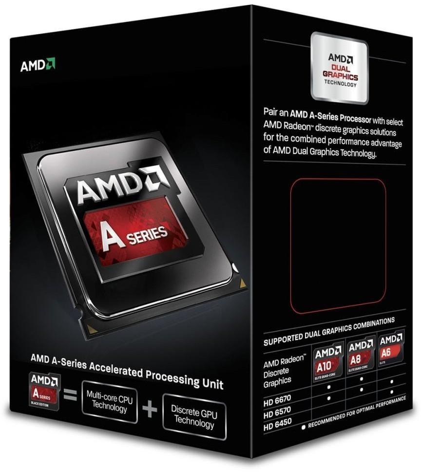 Processador AMD FM2 A6-5400K 3.6GHz Dual Core Unlocked CPU APU (Com HD7540D integrada)  AD540KOKHJBOX - AMD