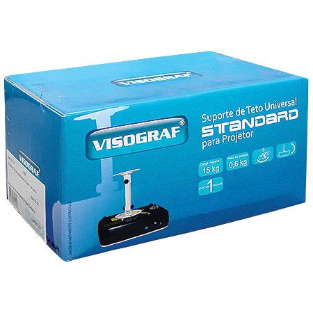 Suporte de Teto Universal Standard para Projetor SUPPROSTD/06 - VISOGRAF