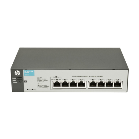 Switch HPN 1810-8G 8 portas 10/100/1000 J9802A - HP