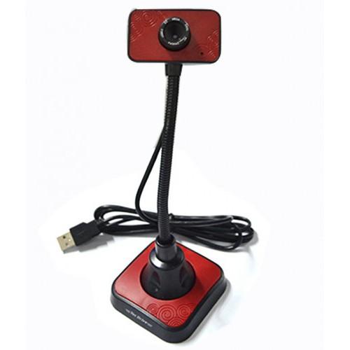 Webcam 8MP USB C/Microfone Tec W1 WEB0016R Vermelho - Tec Drive W1