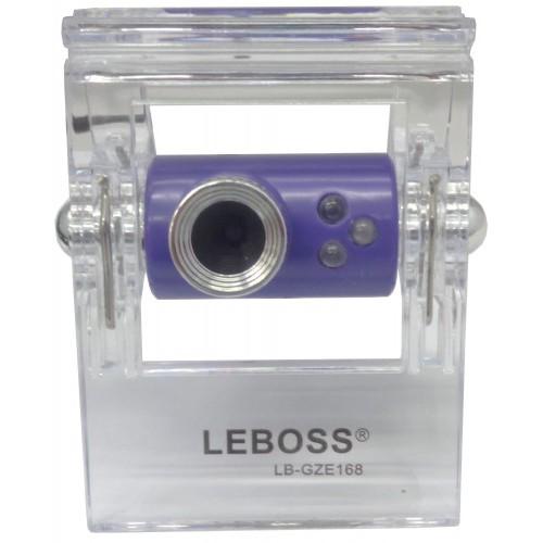 Webcam GZE168 Roxo Com Leds A2613 - Leboss