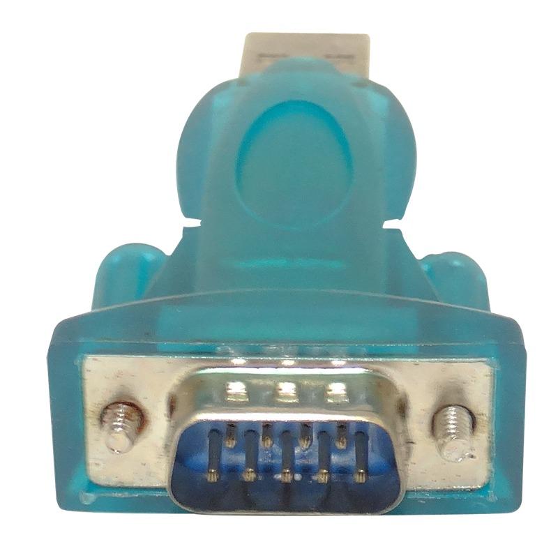 Adaptador USB 2.0 Para RS232 Macho ZX-U03-2A (AD134) - OEM