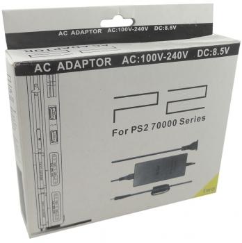 Fonte Bivolt Para PS2 AC Playstation 2 Slim Series 70000