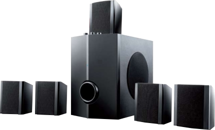 Home Theater 40WRMS SP087 - Multilaser