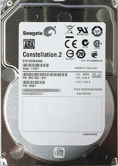 Hard Disk 1TB Sata III 64MB 7200RPM 2.5 polegadas Empresarial Constellation.2 ST91000640NS - Seagate