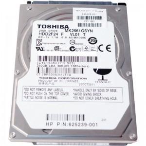 Hard Disk para Notebook 500GB Sata II 16MB 7200RPM MK5061GSYN - Toshiba