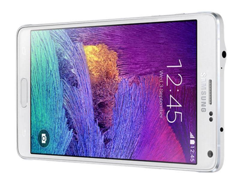 Smartphone Galaxy Note 4 N910C Branco - Android 4.4, Octa Core, Super AMOLED 5.7, 32GB, 16MP, 4G, S-Pen - Samsung
